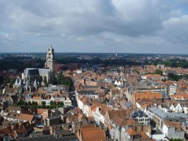 Bruges35 - Cityscape by Lutra-Gem