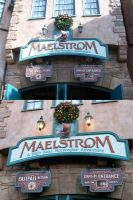 EPCOT: Maelstorm sign by wilterdrose-stock