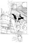 Inks - Spider-Gwen Sample Page1 by Ig Guara by adr-ben