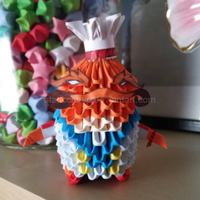 3D Origami: Masterchef Tahm Kench (LoL) by StaticCatnip