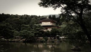 Kinkakuji Temple by galleleo