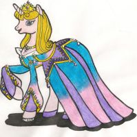 MLP:FiM Disney Princess Aurora by CooperGal24