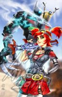 Gaige - Borderlands 2 by Radiant-Grey