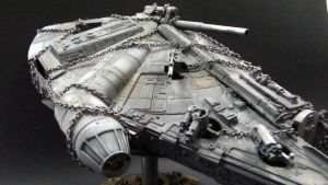 Millenium Falcon MySpace Angle by goofeegrins