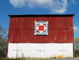 Plum Grove Barn Quilt by justamom