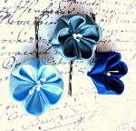 Something Blue Bobby Pin sets by mycraftloft