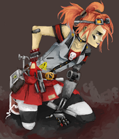 [[ Gaige Mechromancer - BORDERLANDS 2 ]] +video by Pink-Chibi
