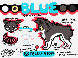 BLUE REFERENCE 2012 by TELEVlSION