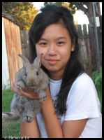 Jacqueline and Thumper by OhsnapItsMchle