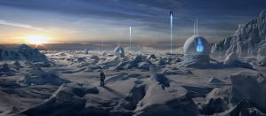 Arctic outposts by tmza