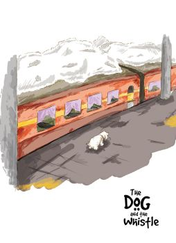 Train Station (The Dog and the Whistle) by amitjakhu