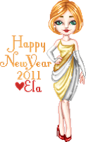 Happy New Year 2011 by elavoria