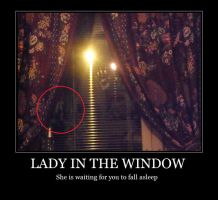 Lady in the window by W-i-s-s-l-e-r