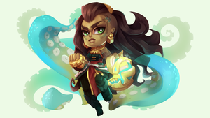 League Of Legends: Illaoi by ERDJIE