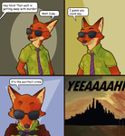 Nick Wild comic by Heumilch