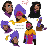 Clopin's Faces by Gellyh
