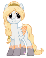 Cloud Pony oc for PyscoSnowflake by SugarMoonPonyArtist