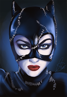 Michelle Pfeiffer as Catwoman by Kachumi