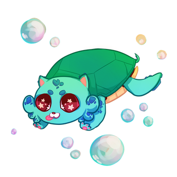 The Amazing TURTLECAT .:commission:. by eliaria