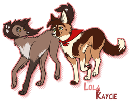 Art trade: Lolathesaluki by twistedCaliber