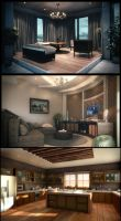 Some Interior by kulayan3d