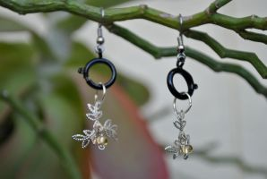 Perfect Imperfection Earrings by thumbelyna