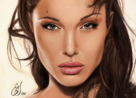 Angelina Jolie Colour by emiliestabell
