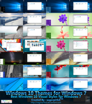 Windows 10 Themes for Win 7 Final by sagorpirbd