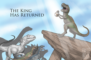 The King Has Returned by sugarpoultry