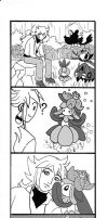 Talking with the Pokemon by Violafuchs
