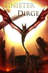 Sinister Dirge Book Cover by Meerin