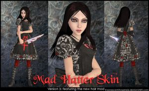 A:MR Skin - Mad Hatter by EvanescentAngel666