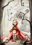 The little red riding hood by AzuraLine