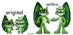 Happy Tree Friends: Lifty and Shifty by michelle-bandi-wolf