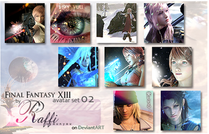 Final Fantasy XIII avaset_no2 by Raffi-nyaunyau