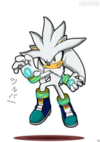 Silver the Hedgehog by Gi203