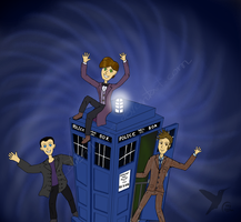 Three Doctors by ColibriNegro