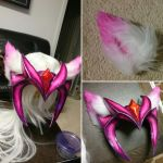 Challenger Ahri - Wig and ears by MiekoNekoCosplay