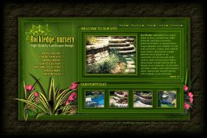 Rockledge nursery website by joydbox