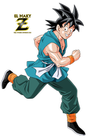 Goku (End Of DBZ) by el-maky-z