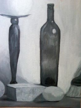 Black and White Still Life by dreamxeyes