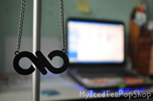 CUSTOM MADE: KPOP Infinite Necklace by MyIcedTeaPopShop
