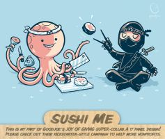 Sushi Me - tee by InfinityWave