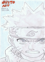 Naruto Artbook Cover by ConkerTSquirrel