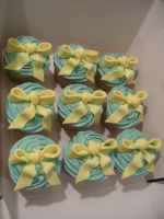 Baby Shower Cup Cakes.1 by gertygetsgangster