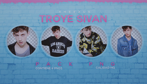 Troye Sivan /PACKPNG/ by Sheezus