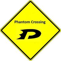 Phantom Crossing Sign by Hordaks-Pupil