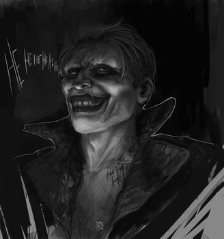 SUICIDE JOKER by Guree
