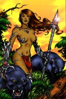 Jungle Witchblade by Kittensoft