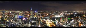 Rialto - Melbourne Panoramic by syncore
